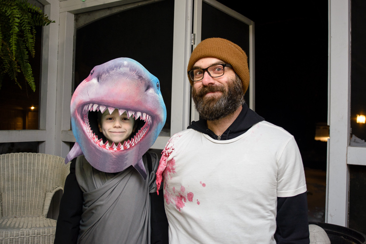 Halloween 2019: the shark and his attack victim