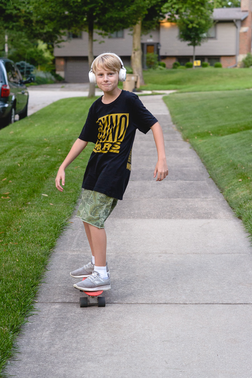 Kids these days, with their skateboards and headphones and Bruno Mars...